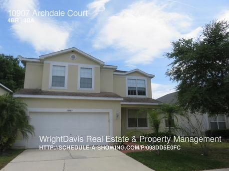 10907 Archdale Ct Tampa, FL 33624