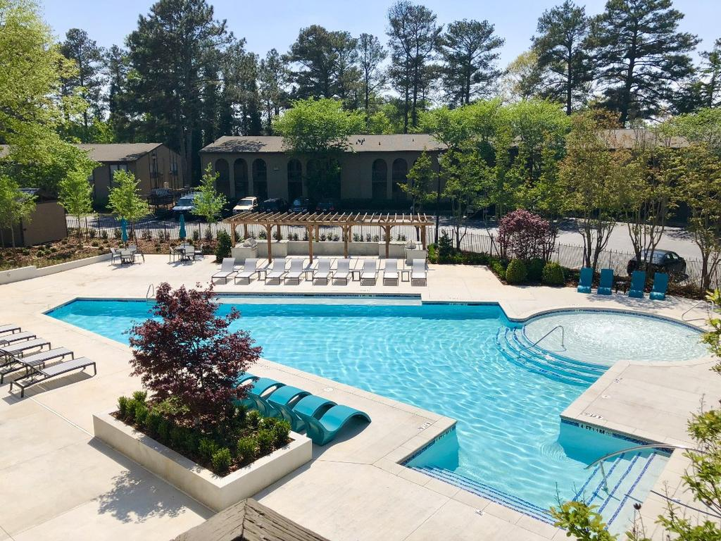 The villas of east cobb apartments 1049 powers ferry rd - 1 bedroom apartments in marietta ...