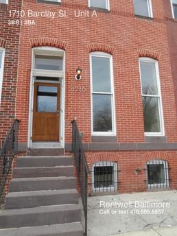 1710 Barclay St Baltimore, MD 21202
