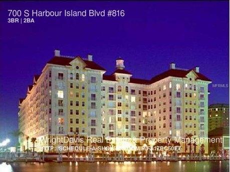 700 S Harbour Island Blvd Unit 816 Tampa, FL 33602