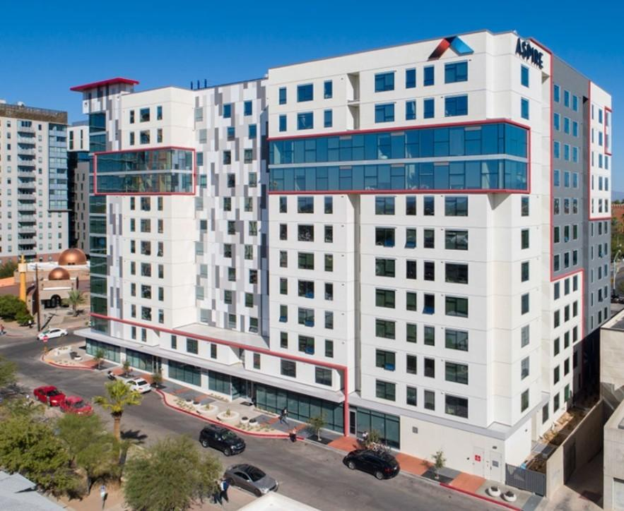 Aspire Tucson Off Campus Student Housing 950 N Tyndall Ave Apartment For Rent Doorsteps Com